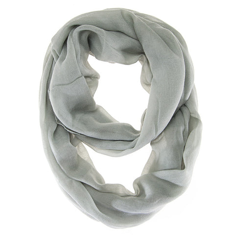 Womens Solid Infinity Scarf Mint