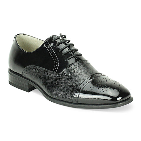 Mens Wingtip Oxford Black