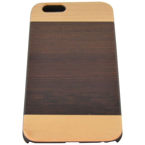 Wooden Case iPhone 6 Hard Cover Patent Mix Wood Brown