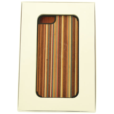 Wooden Case iPhone 6 Plus Striped Bamboo Protective Bumper Cover Mix