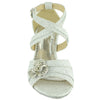 Toddler & Youth Glitter Low Heel Sandal