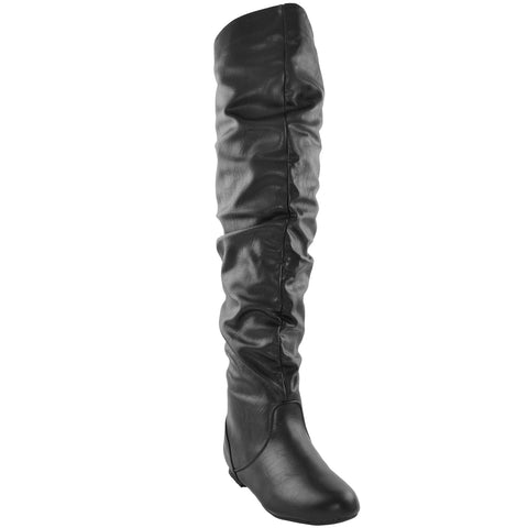 Slouch Knee High Boot