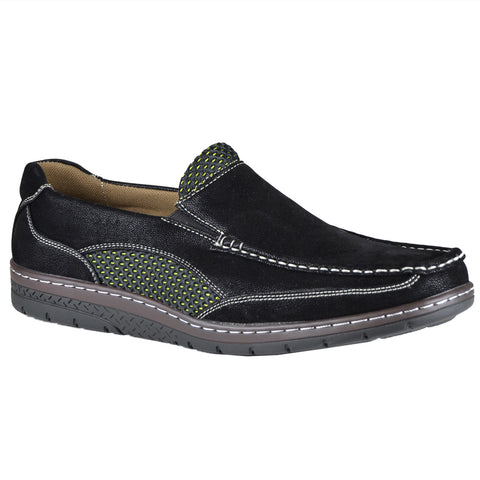 Mens Slip On Loafers Black