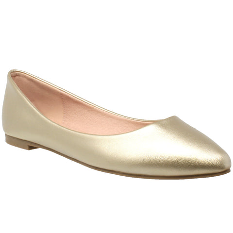 Pointed Toe Ballet Flat