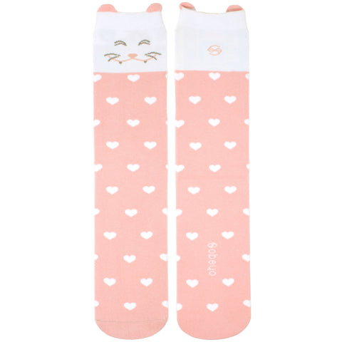 Cat Knee High Sock - 3 Pack