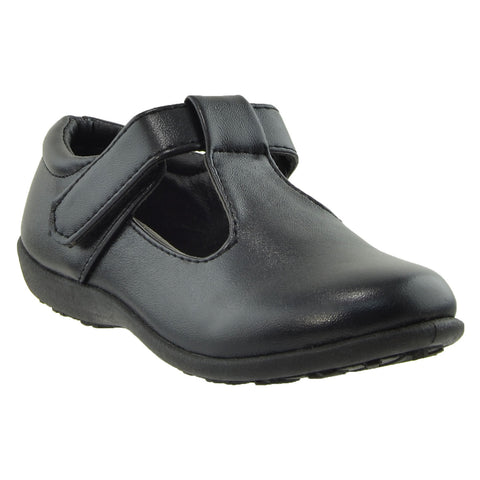 Girls Toddler Youth Comfort Shoes Black