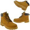 Mens Work Ankle Boots Tan