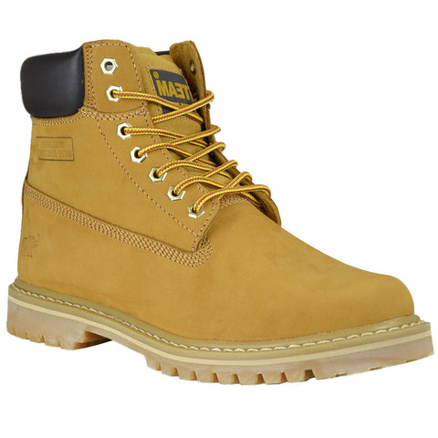 Mens Work Boots Tan