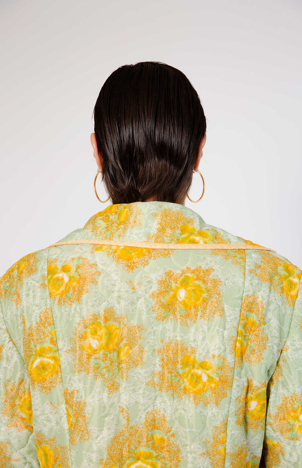 All Things Mochi - Diana Robe - vintage floral robe/jacket