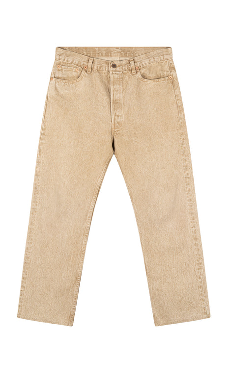 All Things Mochi - Brody Pants - vintage beige Levi's Jeans (front)