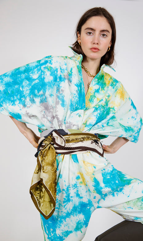 All Things Mochi - Holly Scarf with snake print