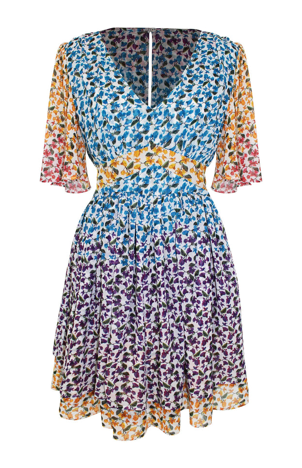 All Things Mochi - Sofia Dress - short floral dress (multi)