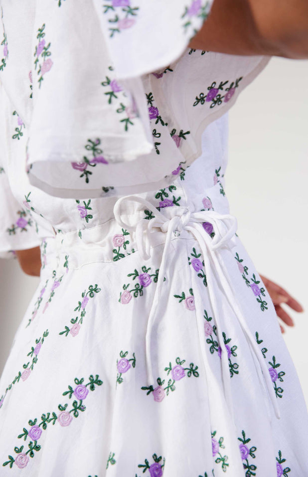 Load image into Gallery viewer, All Things Mochi - Sofia Dress - short floral dress