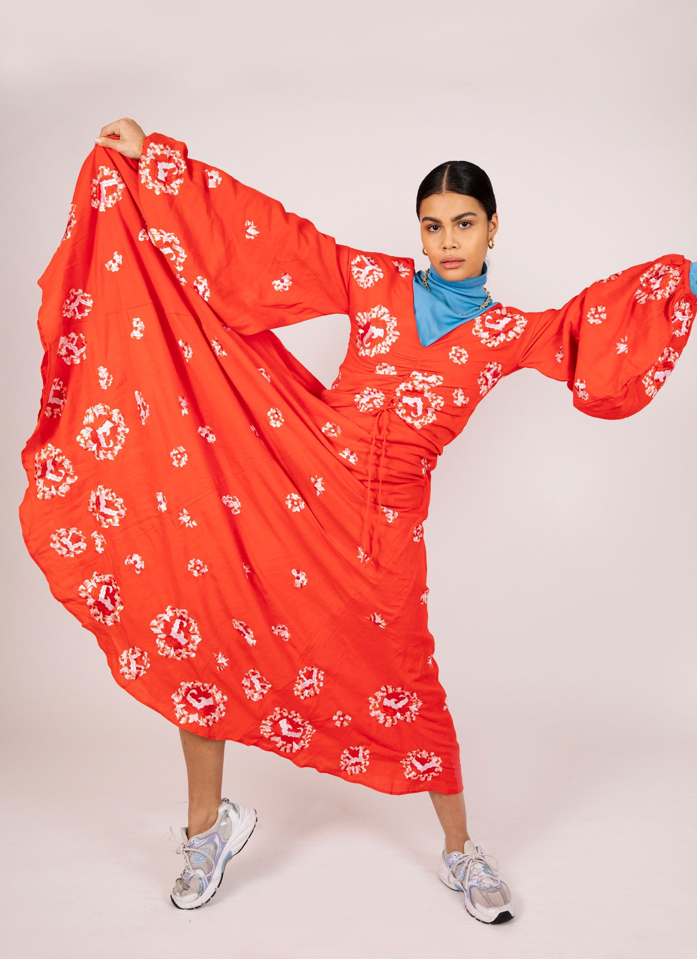 Catalina Dress - Mochi - Red dress inspired by the Spanish culture