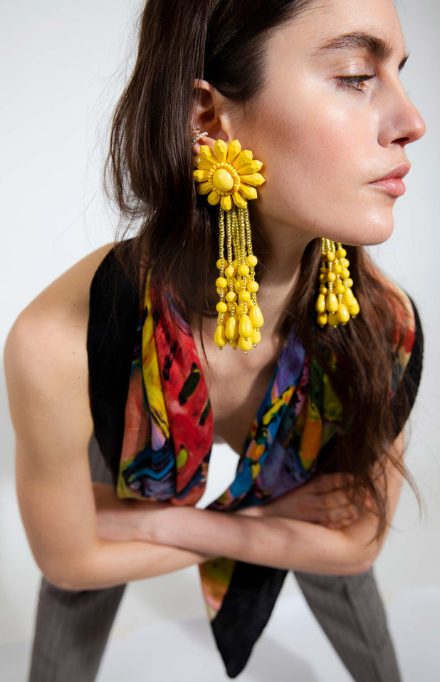 Load image into Gallery viewer, Naia Earrings - Mochi - Vibrant colorful earrings