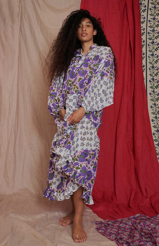 Ema Dress - All Things Mochi - oversized dress with puff sleeves