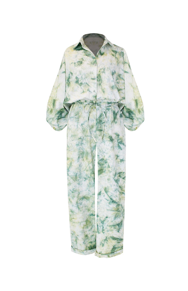 Load image into Gallery viewer, Zoya Jumpsuit - Mochi - Tie-dye jumpsuit
