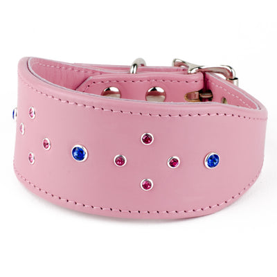Diamond Sky Swarovski Greyhound Collar by Petiquette Collar