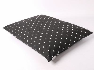 Dotty Charcoal Cotton Top Day bed by Charley Chau