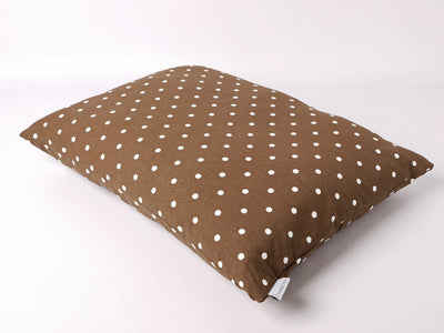 Dotty Chocolate Cotton Top Day Bed by Charley Chau