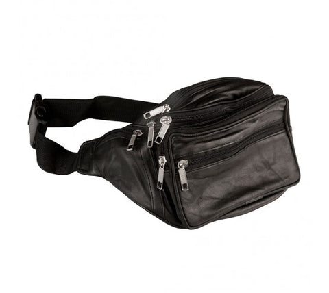 Sheep Nappa Leather Large sized Bum Bag