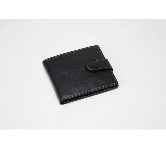 Black Leather Wallet (RFID) - 611000CO