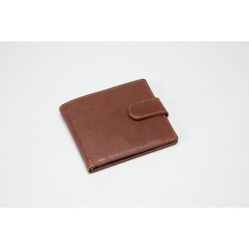 Brown Leather Wallet (RFID) - 611000CO