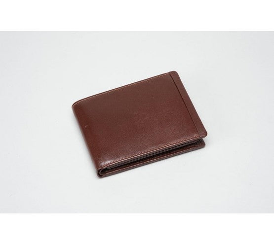Leather PRO Wallet - BROWN (RFID)
