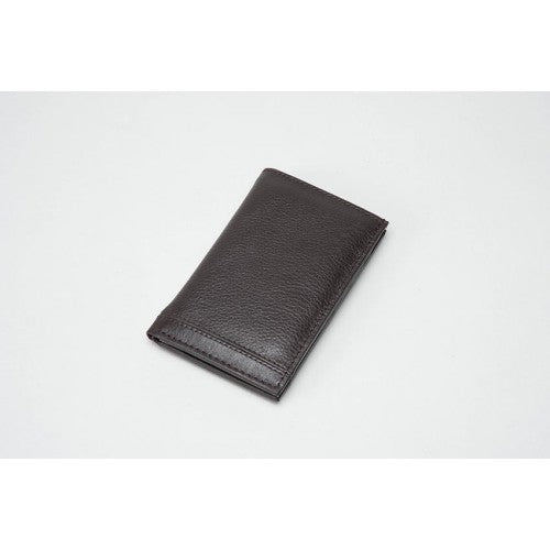 Leather Card Holder - BROWN (RFID)