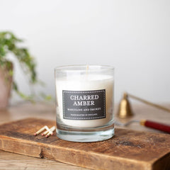 Charred Amber Votive Candle