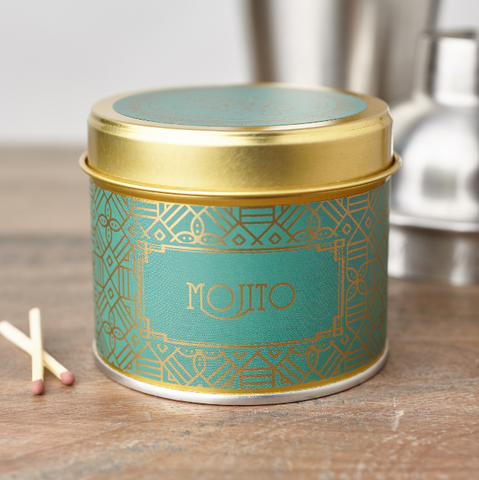 Happy Hour Mojito Candle in a Tin