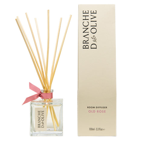 Old Rose Branche D'Olive Room Diffuser