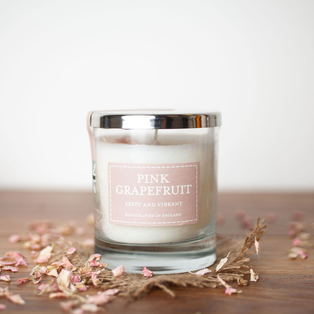 Pink Grapefruit Votive Candle