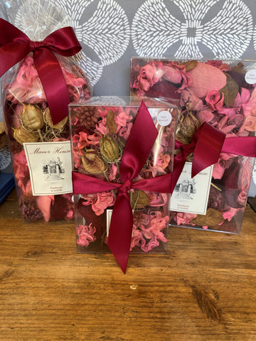 Hand Made Wild Rhubarb Scented Pot Pourri