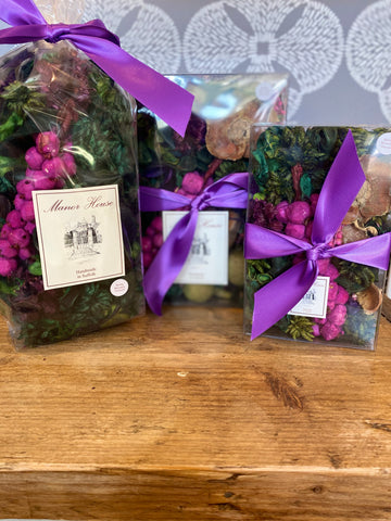 Hand Made Spring Mountain Vineyard Scented Pot Pourri