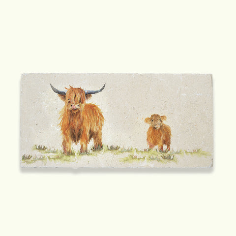 Kate of Kensington Collection: Highland Cow Sharing Platter