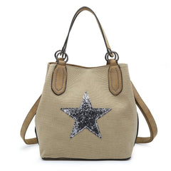 Star Bag Medium Pale Beige