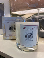 Manor House scented candle in glass - Lime, Basil & Mandarin