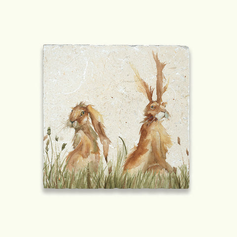 Kate of Kensington Collection: Family A Hare Medium Platter