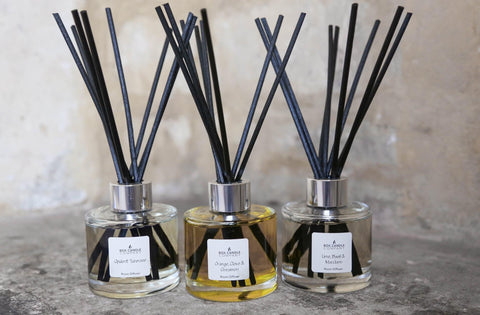 Box Candle Company - Reed Diffuser Rosemary & Bay Leaf