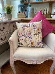 Lorient Decor by Voyage Cushion - Benton Plum Floral