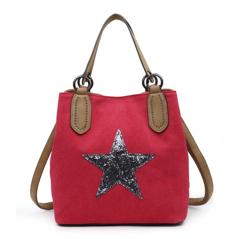 Star Bag Medium Red