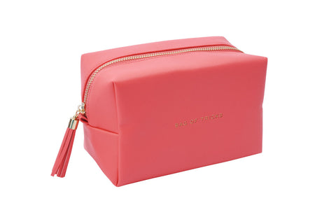 Cosmetic Pouch 18cm - Bag of Tricks - Coral