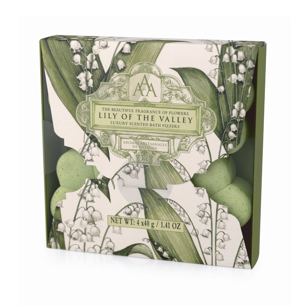 Somerset Toiletries AAA Lily of the Valley Bath Fizzers