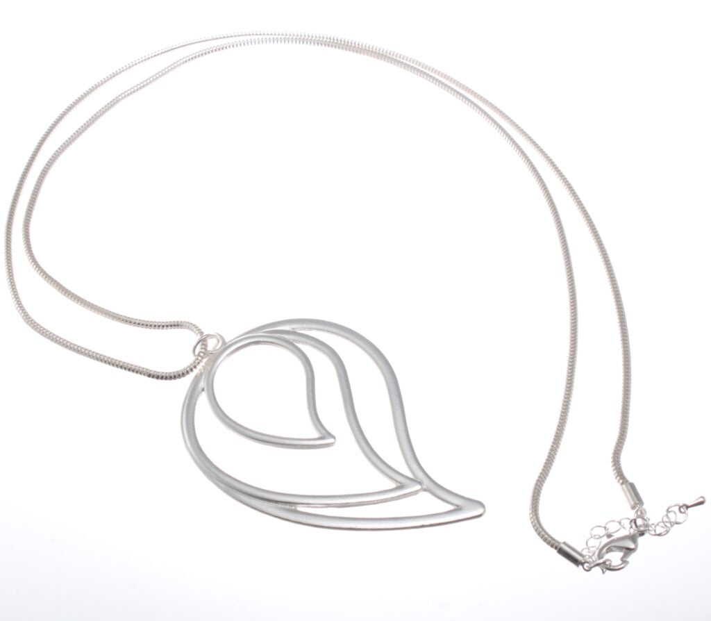 Long Pendant Tear Shaped Necklace