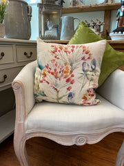 Lorient Decor by Voyage Cushion - Benton Russet Floral