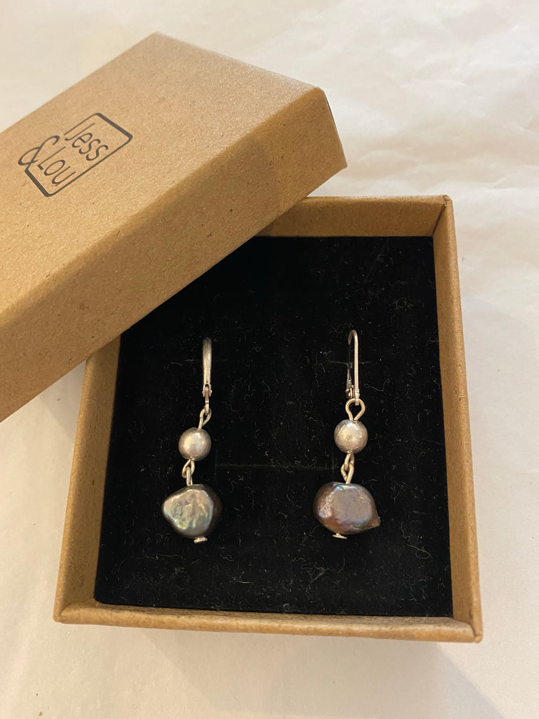 Earrings - Fresh Water Pearl Drop Earrings