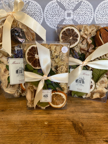Hand Made Lime, Basil & Mandarin Scented Pot Pourri