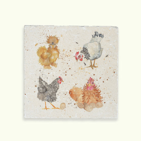 Kate of Kensington The British Collection: Hens Medium Platter
