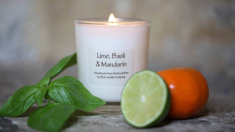 Box Candle Company - Lime, Basil & Mandarin Candle